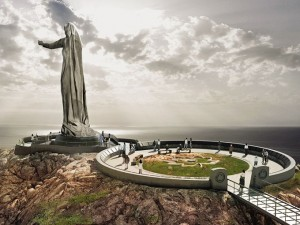 "The ""Mother Canada"" statue proposed for Green Cove in Cape Breton."