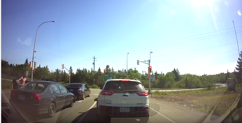 Footage of apparent road rage being investigated by Regional Police