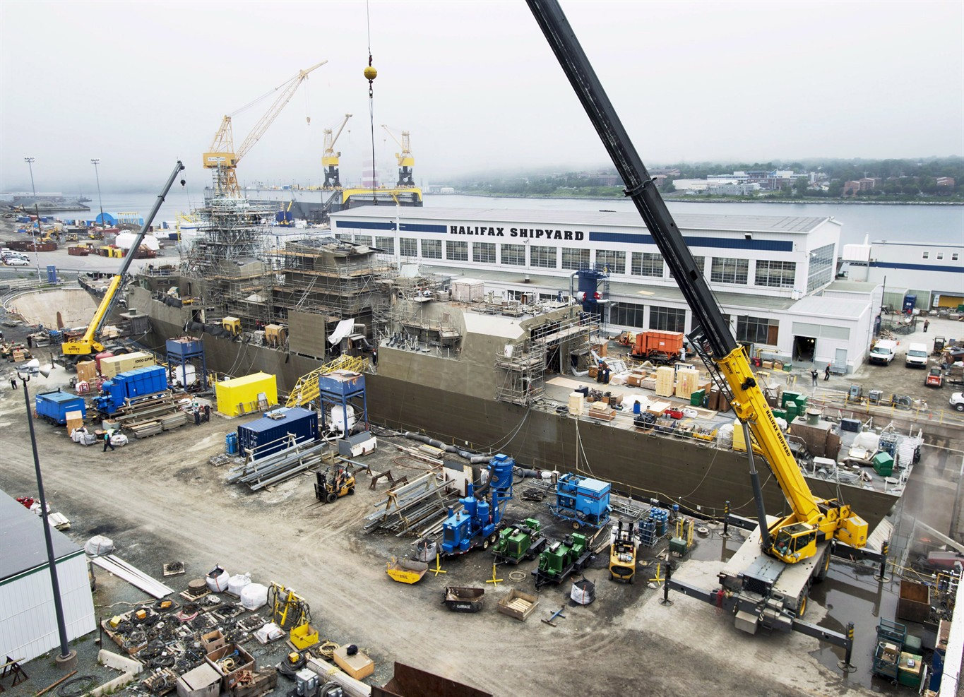 Irving Shipbuilding Defends Decision To Bring In International