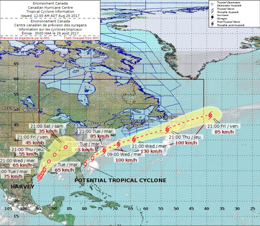 Potential Tropical Storm Irma could have slight impact on