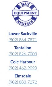 Bay Equipment Rentals