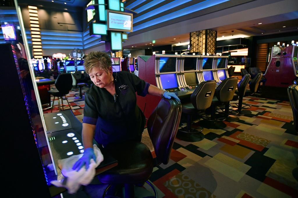 Sanitized cards, chips: Nevada wants casinos' plans to open