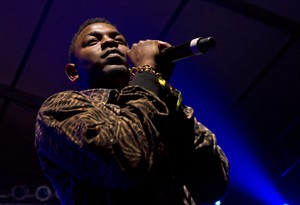 """Rapper Kendrick Lamar performs at the Bonnaroo music festival in Manchester, Tenn., Thursday, June 7, 2012. Canadian Press music writer Nick Patch picks his favourite albums and songs of 2012, headlined by Kendrick Lamar's """"Good Kid, m.A.A.d City."""" THE CANADIAN PRESS/AP - Dave Martin"""