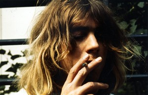 This is a 1974 image of British musician Kevin Ayers, made available by Max Films Limited on Thursday Feb. 21, 2013. Kevin Ayers, an influential singer-songwriter who co-founded the band Soft Machine, has died in France, his record label said Thursday. He was 68. Ayers was an important figure in the British psychedelic movement spearheaded by the Beatles in the late 1960s. He did not achieve sustained commercial success, but his work is treasured by musicians and many fans. (AP Photo/Lo-Max Records)