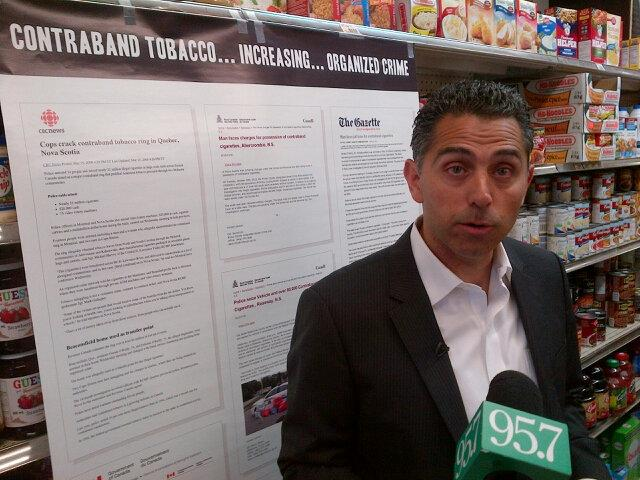 Atlantic Convenience Stores Association president Mike Hammoud.