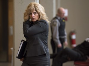 "RCMP Sgt. Lisa Stuart heads to the trial of Christopher Phillips at Nova Scotia Supreme Court in Halifax on Monday, June 1, 2015. Phillips is charged with threatening police officers and possessing a weapon ""osmium tetroxide '"" for a dangerous purpose. Stuart testified that Phillips was considered a threat to public safety based on emails obtained from his wife.THE CANADIAN PRESS/Andrew Vaughan"